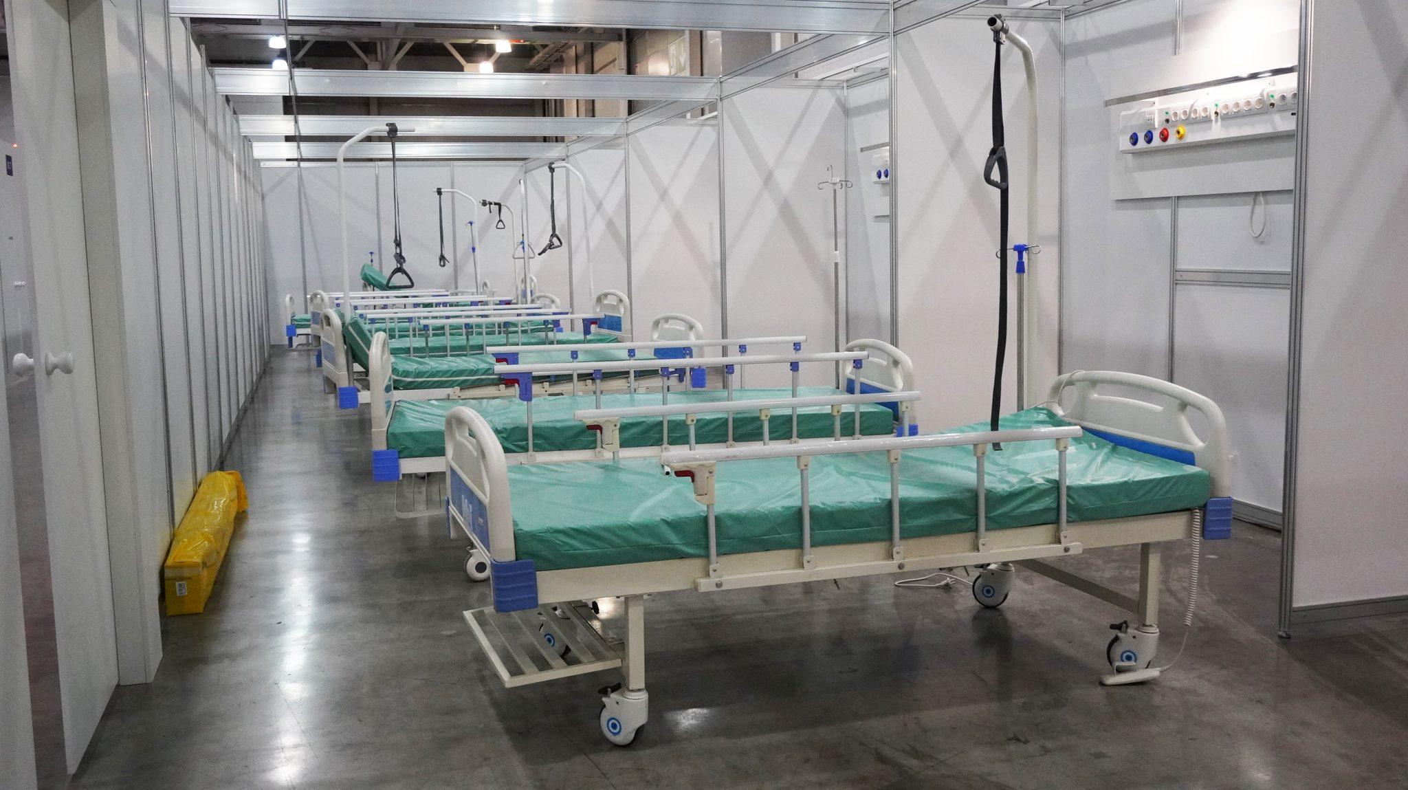 Medical,Beds,In,The,Coronavirus,Hospital